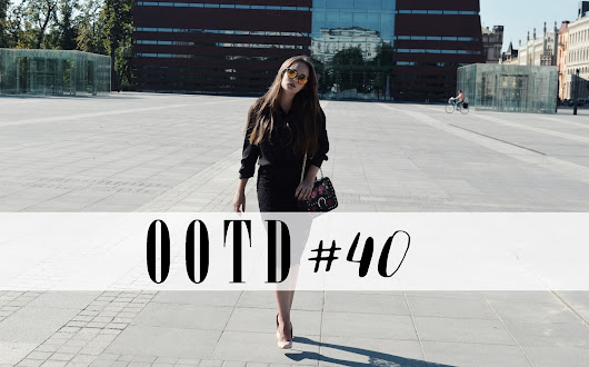 OOTD #40- Total Black Look