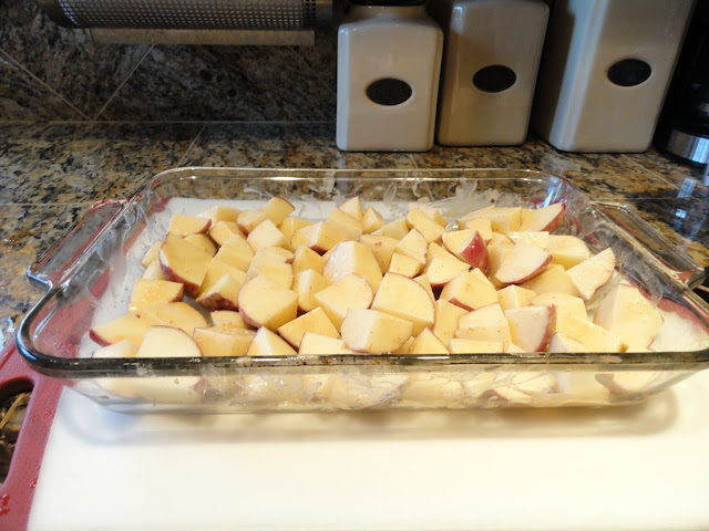 Chicken-And-Red-Potatoes-In One-Pan-With-Homemade-Vinaigrette-Potatoes-Half-Vinaigrette.jpg
