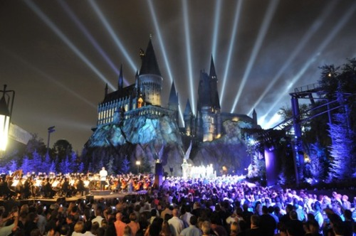 A future Harry Potter park in California