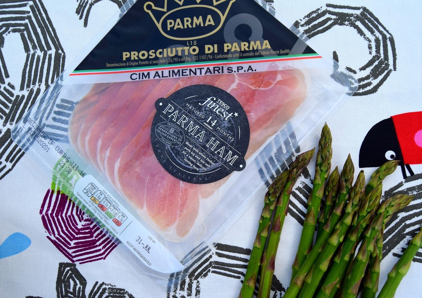 Prosciutto di Parma And Asparagus Quiche