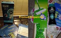 Logo #Chiliprovaliapprova P&G: anche tu hai ricevuto 1 dei 7000 kit Oralb,Swiffer e Unstoppalles?