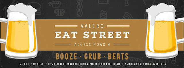 WEEKENDERS UNITE AND HEAD TO VALERO EAT STREET: BOOZE. GRUB. BEATS.
