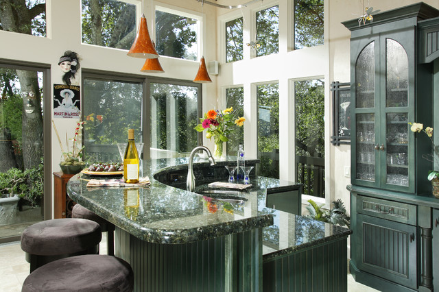 Emerald Pearl Granite Countertops