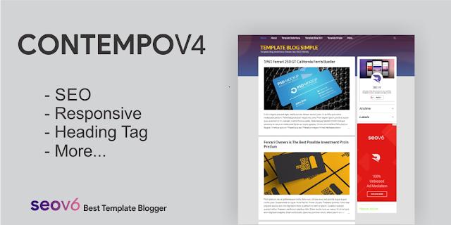 Template Blog Contempo v4