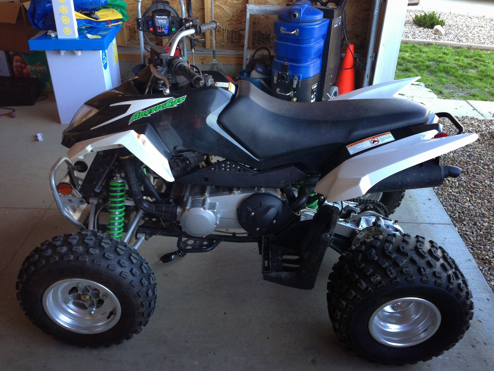 sask trail riders atv review 2009 arctic cat dvx 300. Black Bedroom Furniture Sets. Home Design Ideas