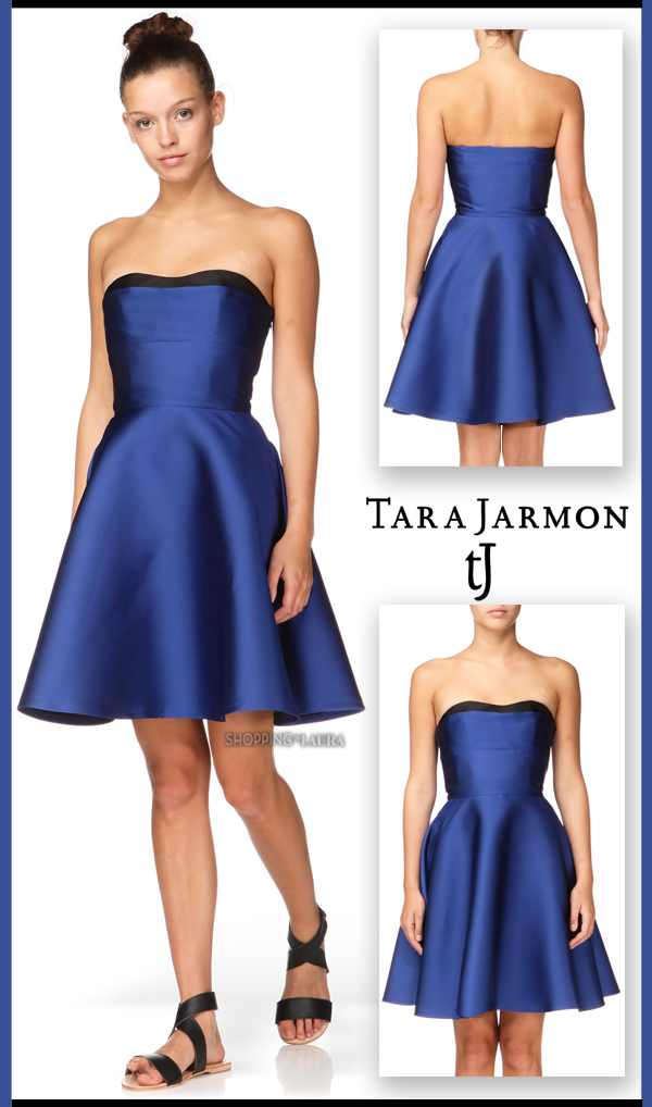 Robe patineuse bleue TARA JARMON