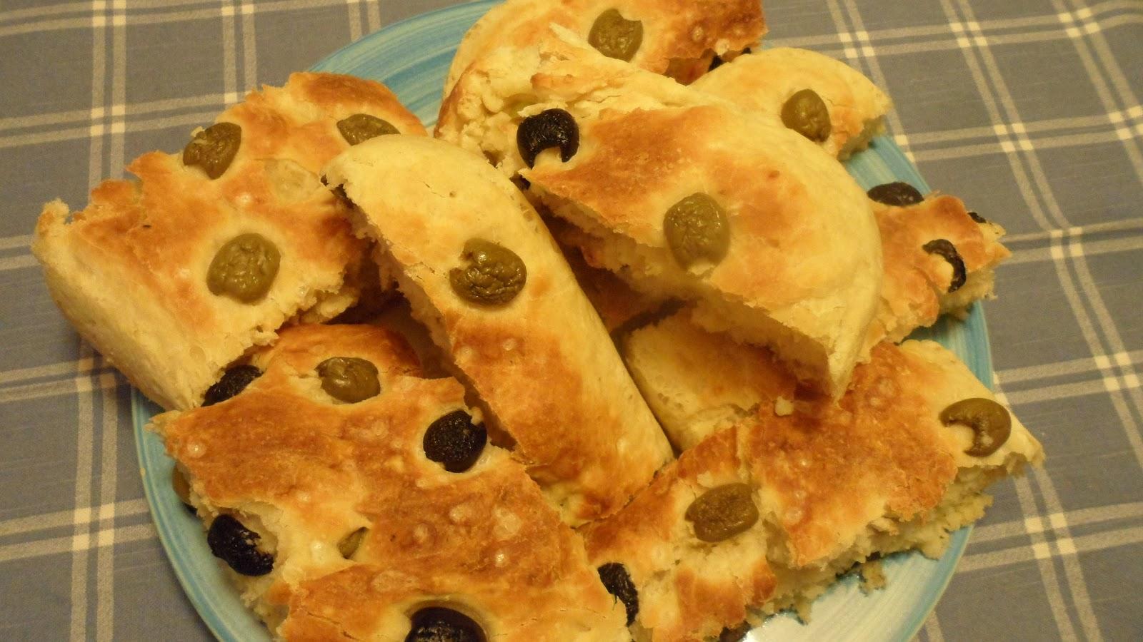 Imparando a cucinare focaccia alle olive for Cucinare per 50