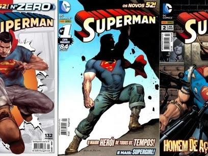 Resenha Superman nº 00, 01 e 02