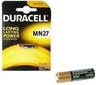 duracell batteria alkaline 12v mn27