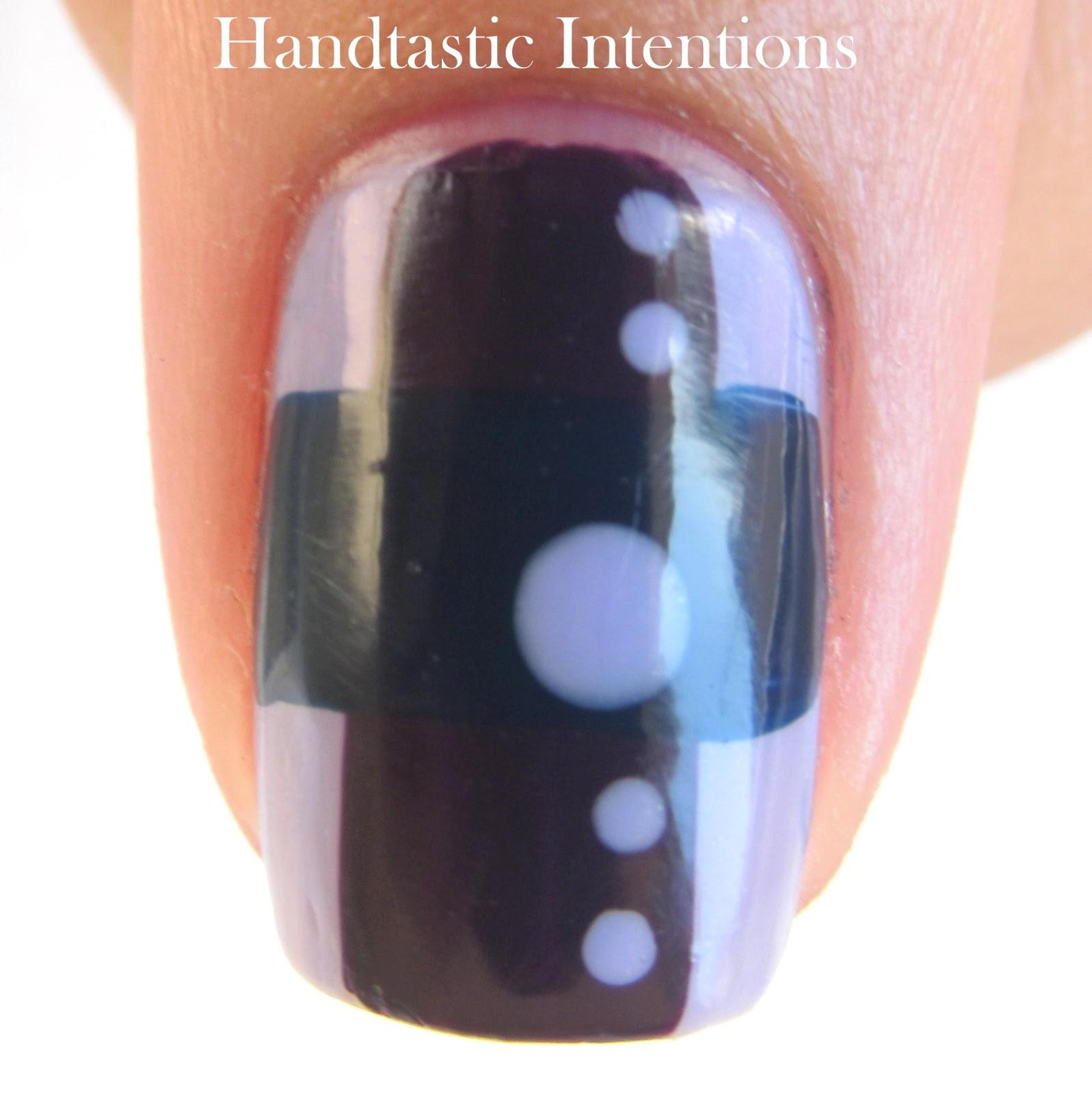 Euro Nail: Handtastic Intentions: Nail Art: Euro Mod
