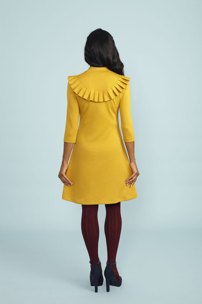 Freya sweater + dress - sewing pattern from Stretch book - Tilly and the Buttons