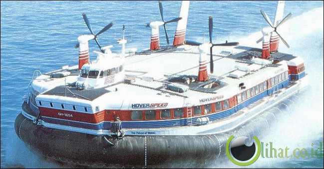 BHC SR-N4 Mk-3: Hovercraft Non Militer Terbesar
