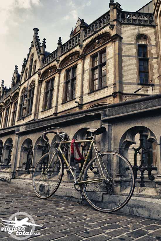 Gante - Ghent - Gent - Bélgica - Belgium - Bicicleta