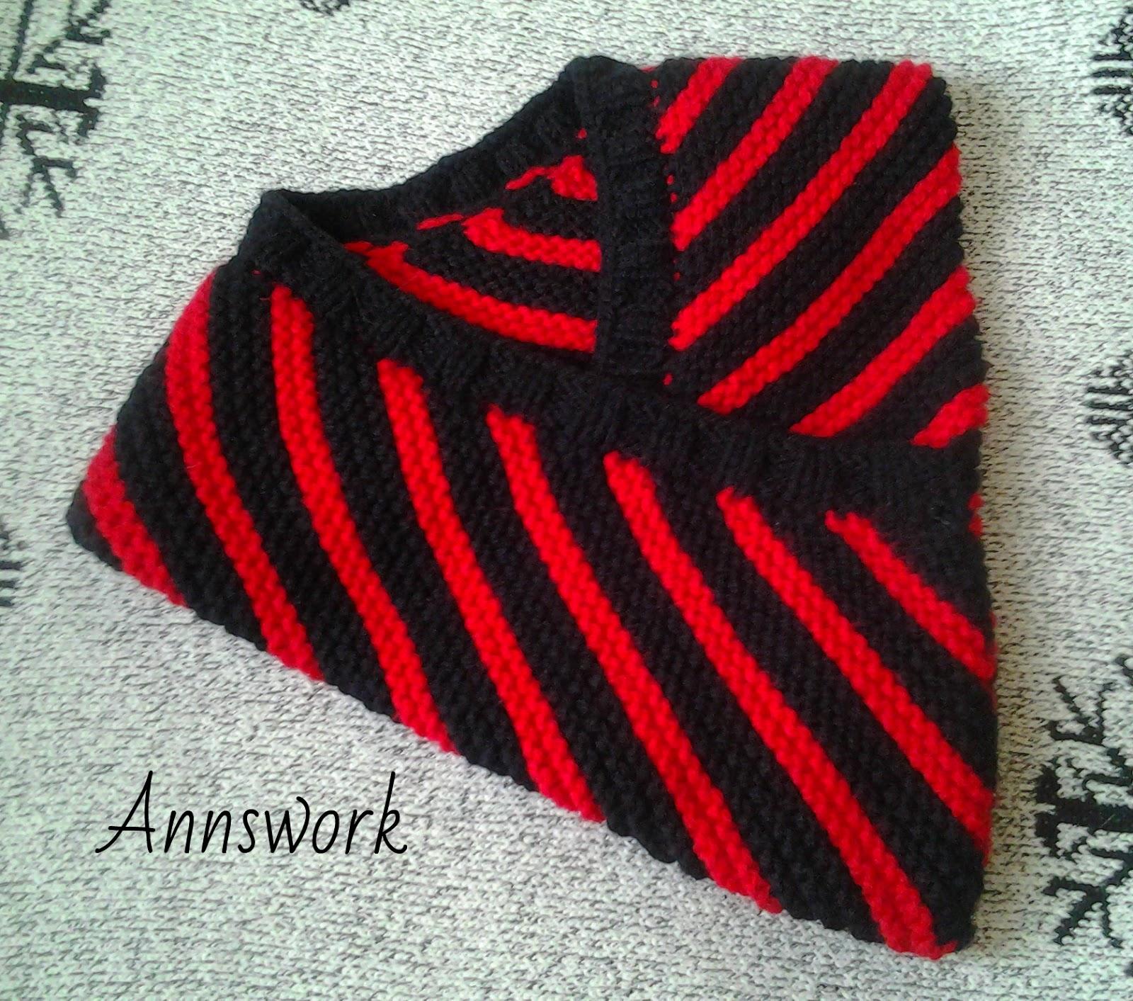 вязание крючком и спицами шарф воротник вязание по диагонали