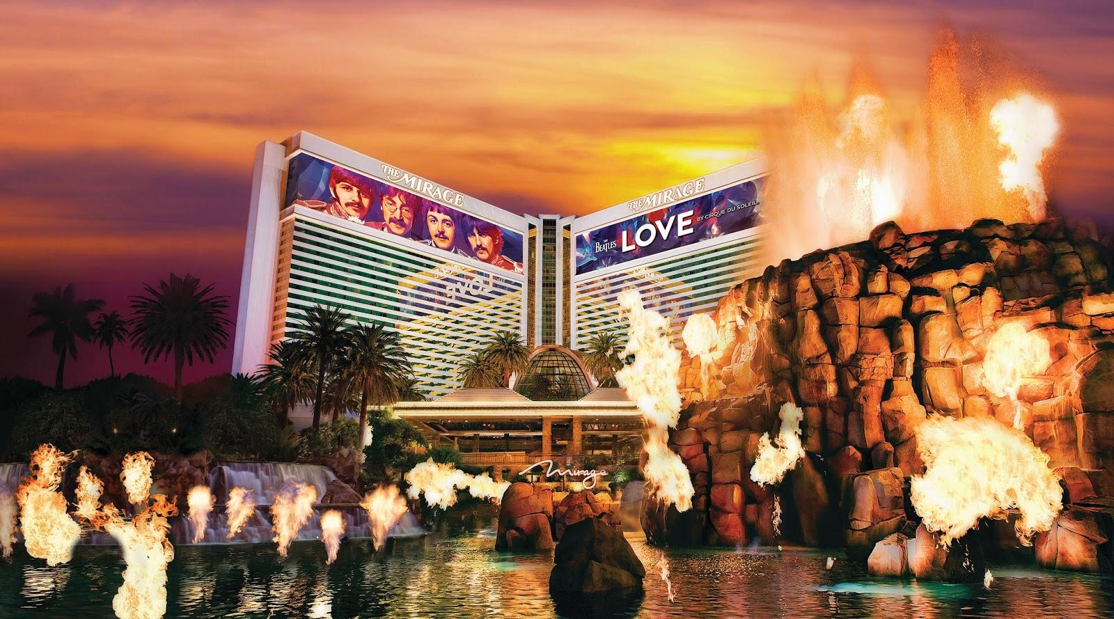 Dicas de Las Vegas: The Mirage Hotel