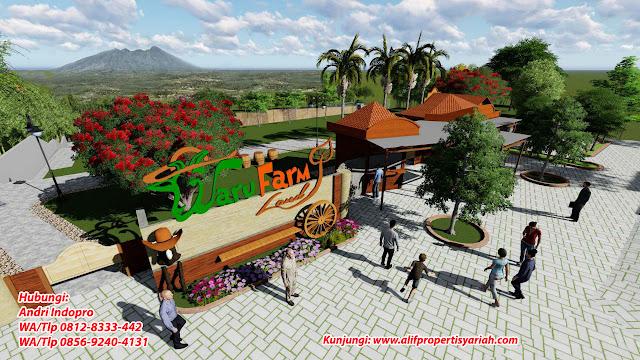 Tanah-Dijual-Murah-di-Bogor-Tanah-Kavling-Tasnim-Garden-Ciampea-Bogor-lokasi-strategis