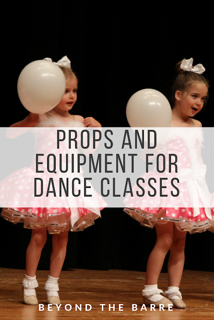 Props and Equipment for Dance Class