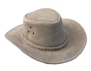 b3693562 The nearest model we have is the oiled suede leather hat in stone (£29.99).  To view the full range of Wombat Leather bush hats please visit  Just4Leather or ...