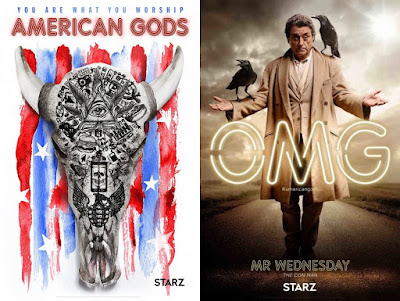 American Gods Television Series Character Posters