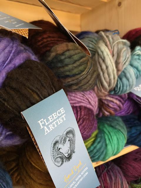 Fleece Artist Hand Dyed Yarn