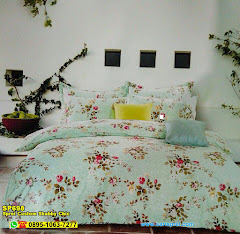 Sprei Custom Shabby Chic And Vintage JP Small Rose Tosca