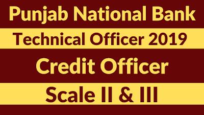 PNB Technical Officer (Credit) 2019 - Syllabus   BankExamsToday
