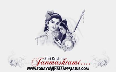 50 Krishna Janmashtami Status in Hindi   Janmashtami Quotes in Hindi