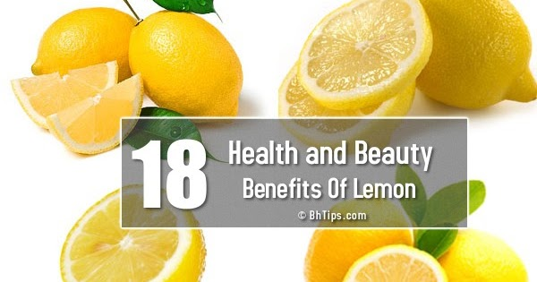 18 Health And Beauty Benefits Of Lemon With Nutritional Values