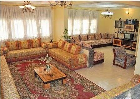 d coration salon marocain salon marocain traditionnel et oriental de luxe. Black Bedroom Furniture Sets. Home Design Ideas