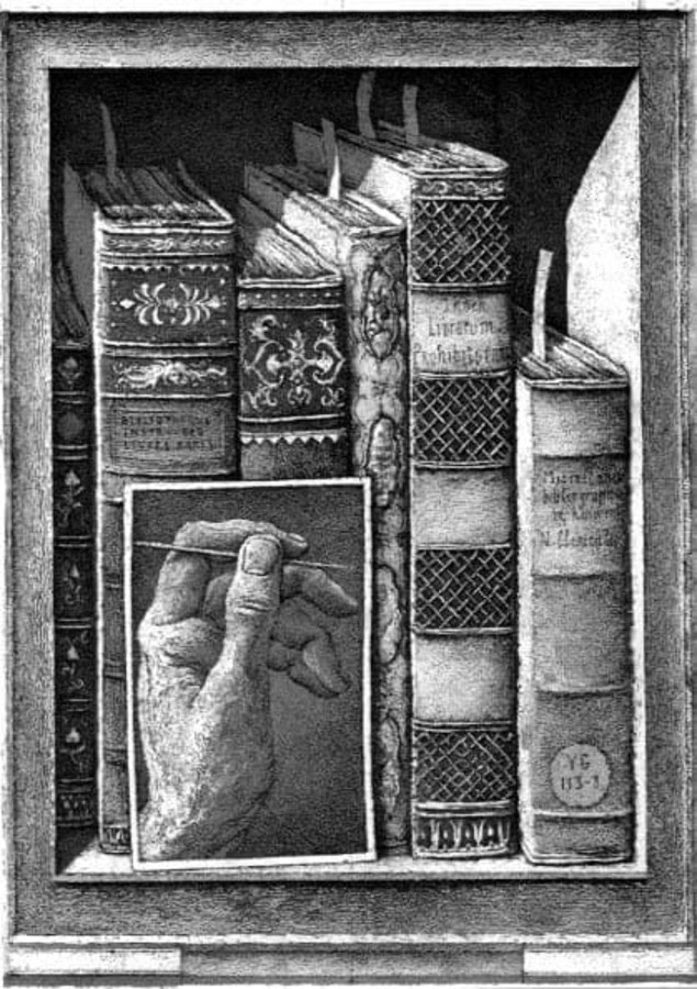 10-Miscellanea-Bibliographica-Erik-Desmazières-Architectural-Etching-and-Pencil-Drawings-www-designstack-co