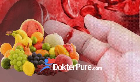 9 Buah Pengencer Darah Kental Beku Alami
