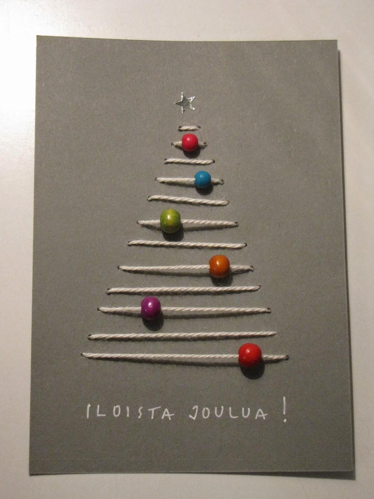 Joulukortti Ideat