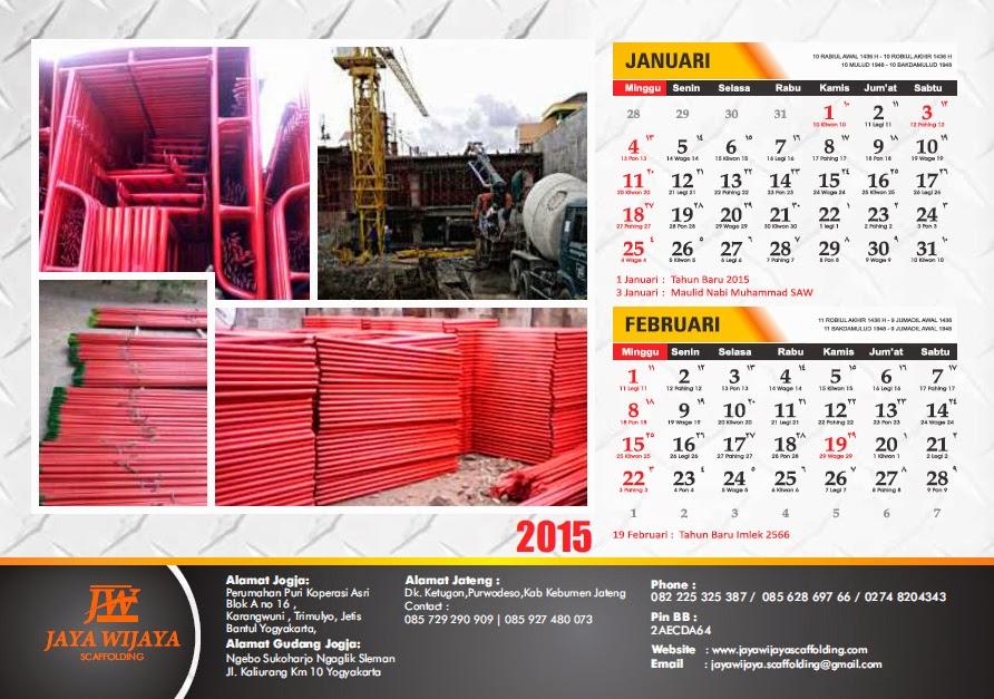 Desain Iklan Kalender