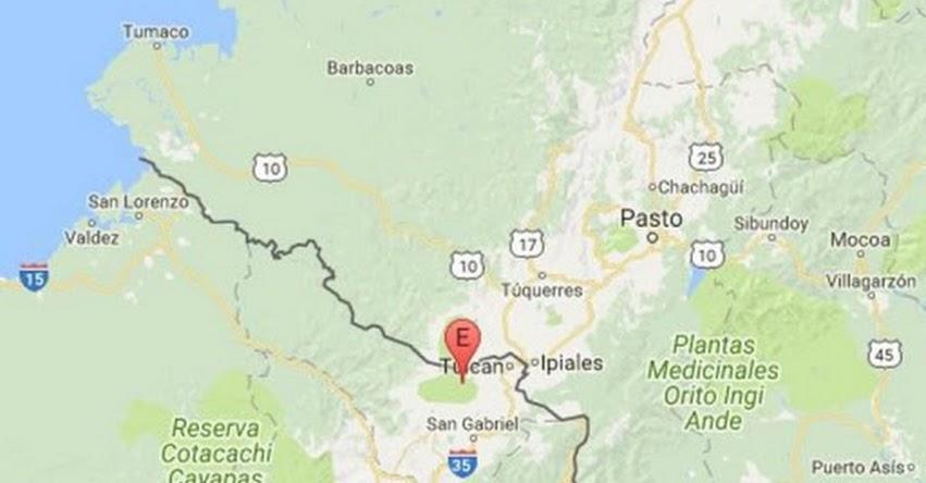 TEMBLOR EN ECUADOR de 4.0 Grados (Hoy Viernes 14 Julio 2017) Terremoto Sismo EPICENTRO Tulcán - Carchi - www.igepn.edu.ec