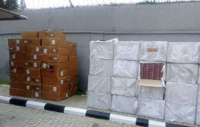 Customs officials seize N65m worth of Tramadol capsules at airport
