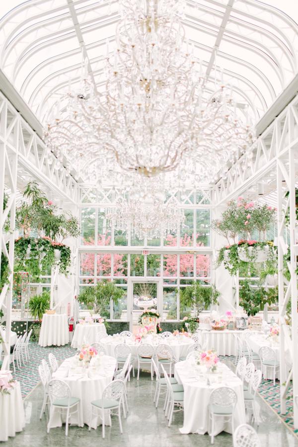 aisle style garden inspired bridal shower
