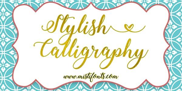 Download Gratis 10 Script Font terbaru 2016 - Stylish Script Calligraphy Font Free