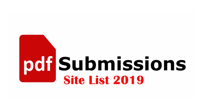 Top 30 Pdf Submission Sites List 2019 Off Page Seo
