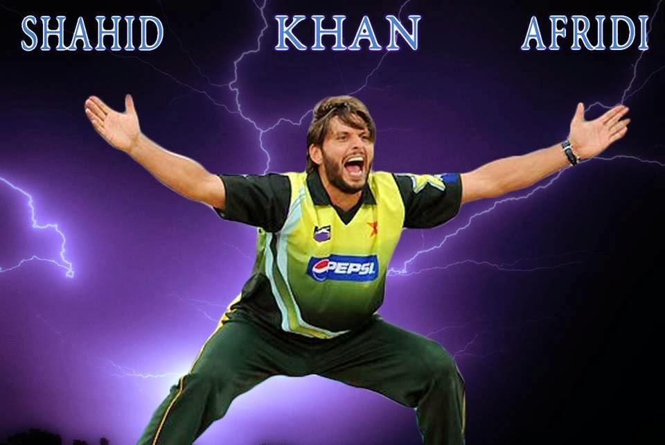 Shahid Khan Afridi New HD Wallpapers Free Download