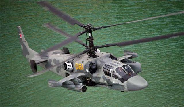 Modernisasi Ka-52K untuk persyaratan teknis Kementerian Pertahanan Rusia