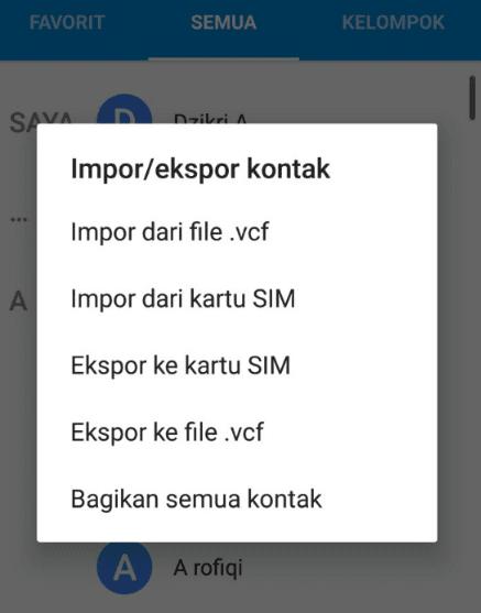 Ekspor Kontak WhatsApp