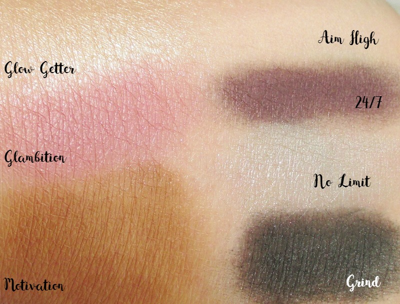 pur-cosmetics-vanity-palettes-goal-digger-swatches