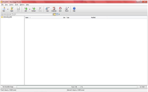 Cara Membuat File ISO Dengan Power ISO ~ tips KOMPUTER