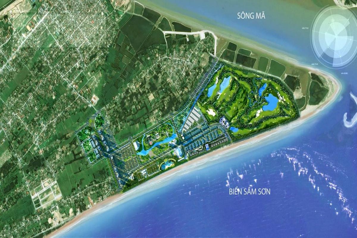 Tổng thể dự án FLC Sầm Sơn