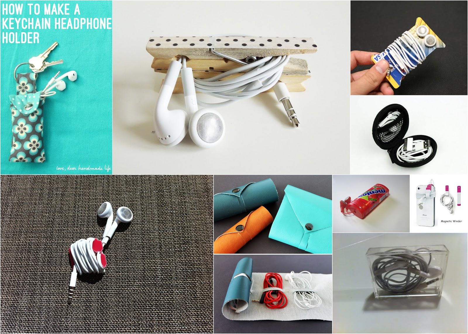 Easy Diy Earbud Holder - Home Design