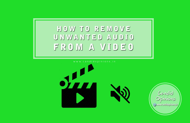 How to Remove Unwanted Audio from A Video
