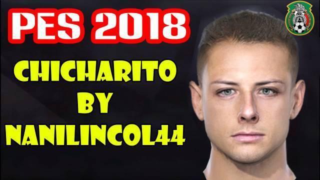 Javier Hernandez Face PES 2018
