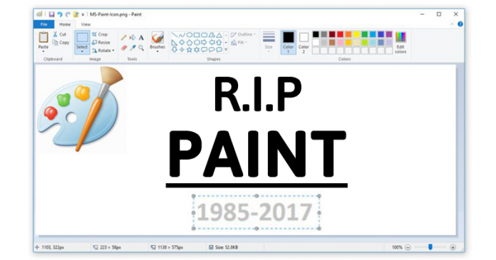 Collnet see why microsoft want remove ms paint after 32 for Microsoft paint download