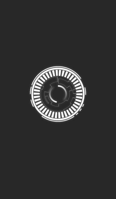 Hi-Tech HUD Theme Ver. White