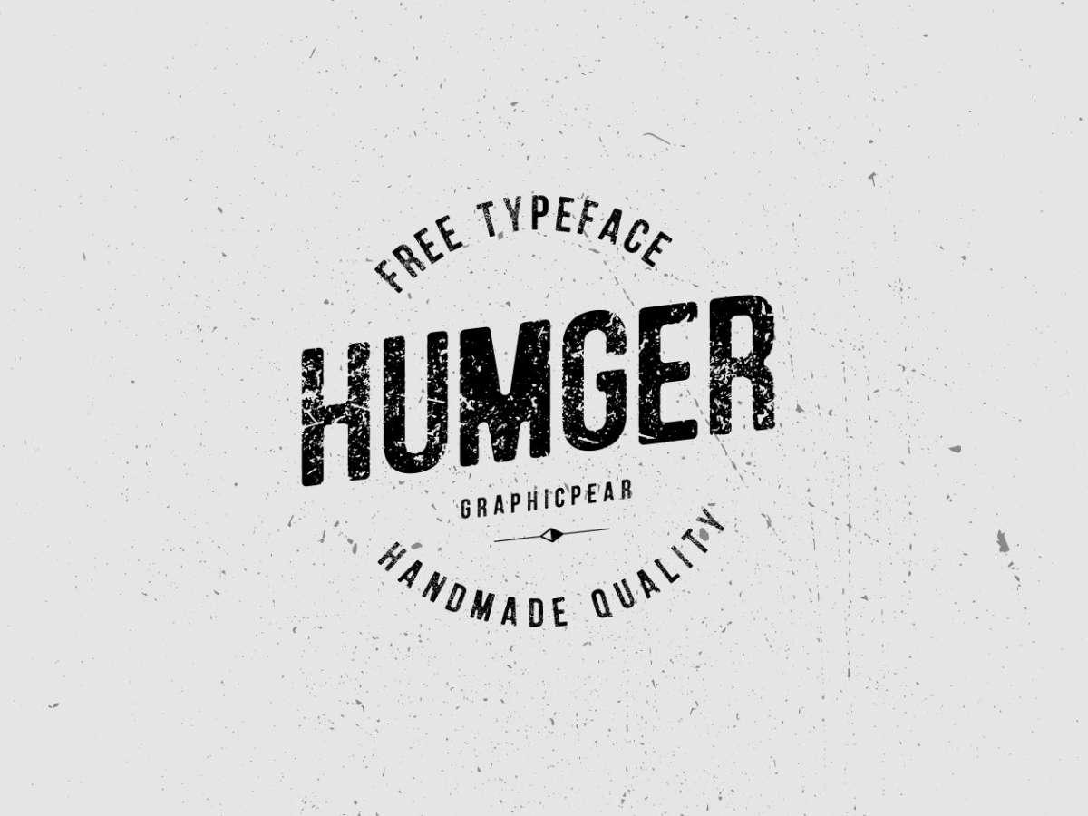 Download Font Terbaru 2016 - Humger Font